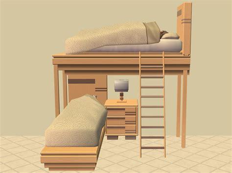 Sims 2 Bunk Beds Mod The Sims Bunk Bed
