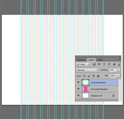 layout grid photoshop setting a baseline grid with guideguide for photoshop
