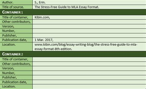 php date format blog the stress free guide to mla essay format 8th edition