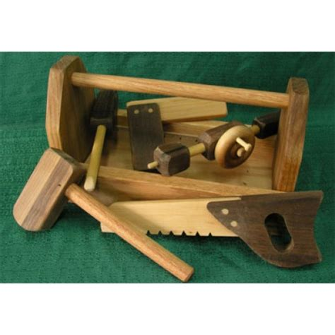 wooden tools handmade wood toy tool box and toy tools