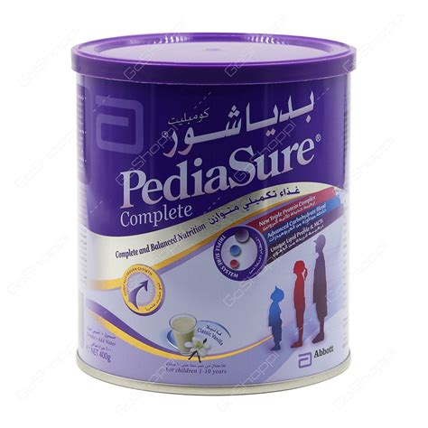 Pediasure Complete Vanilla 400 G buy baby products from nawaes al madina