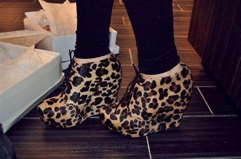 Wedges Bl 103 cherryblozzum shoes leopard wedges image 224165