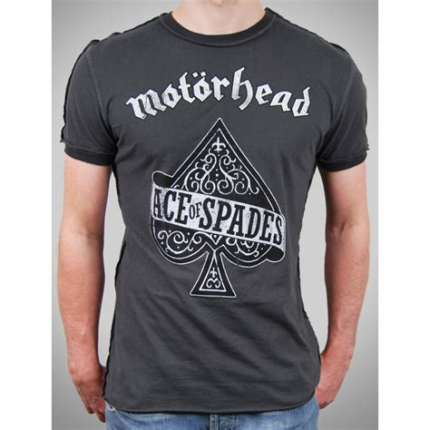 Tshirt Mi Motorhead 2 mens vintage motorhead ace of spades t shirt by lified