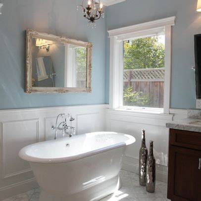 wainscoting bathroom vanity wainscoting for bathroom for our new home pinterest