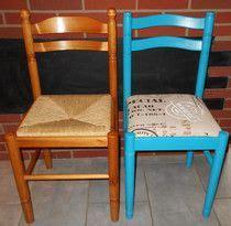 relooker chaise en paille le catalogue d id 233 es