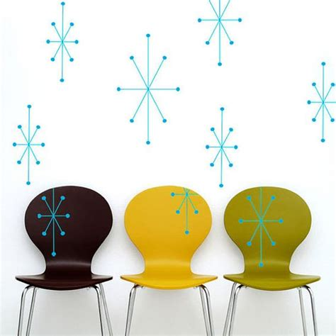 mid century vinyl wall decals vinyl wall decals mid century modern and mid century on