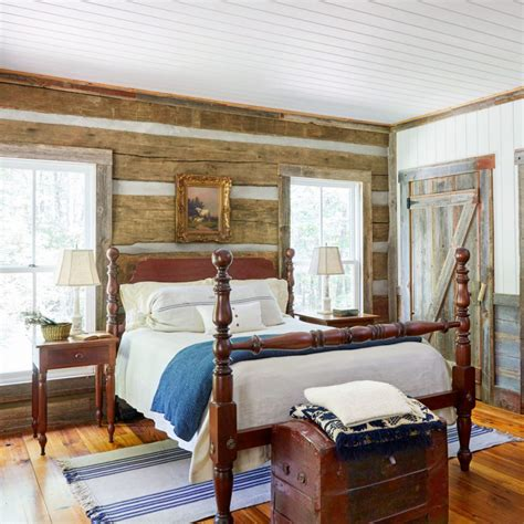 Home Bedroom Design How To Decorate A Small Home Using Country Decorating Ideas Ward Log Homes
