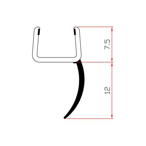 profilo box doccia profilo box doccia per vetri di spessore da 8 mm ec 12