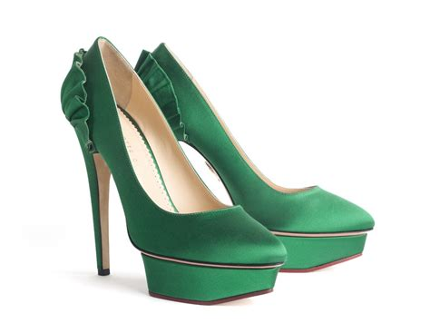green shoes bridal shoes low heel 2015 flats wedges pics in pakistan