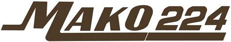 mako boats apparel logo mako