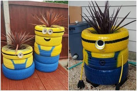 diy  inspirasi pot tanaman  barang bekas tokopedia
