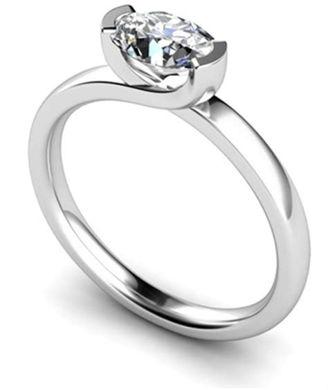 unique twist oval engagement ring dhmtss551