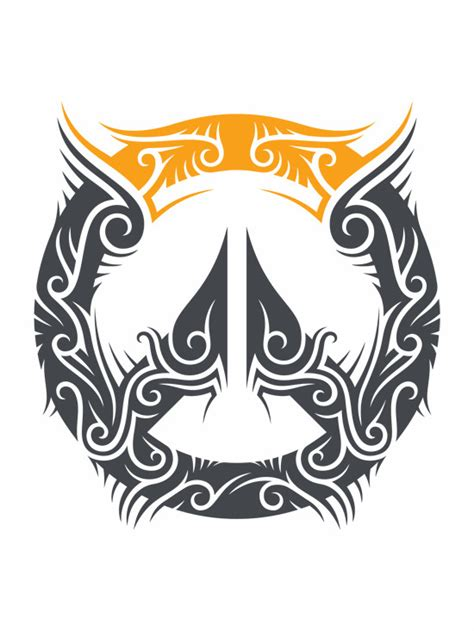 overwatch logo tribal decal prosportstickerscom