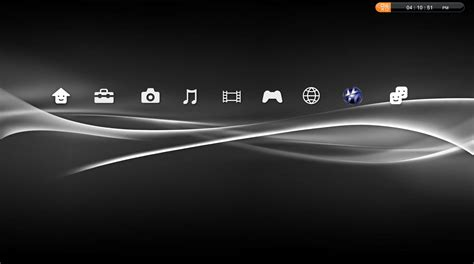 ps3 themes com ps3 gui rainmeter theme for windows7