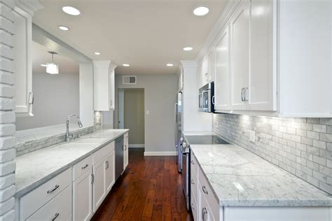 bright small kicthen with marble countertop wooden using white granite countertops for modern kitchen