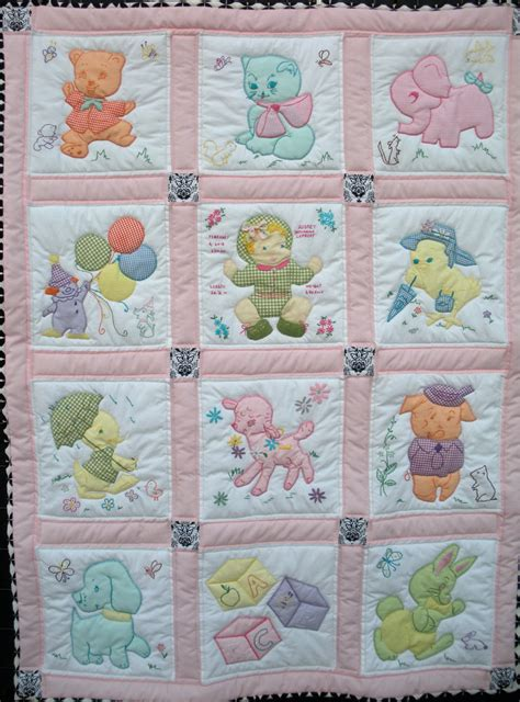 Vintage Baby Quilt Pattern by Vintage Baby Quilt