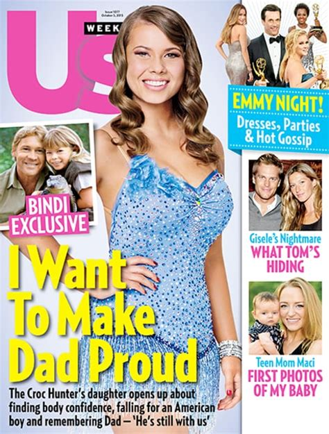 Us Weekly Partners With Veoh by Bindi Irwin Snuggles With Quot Amazing Quot Boyfriend Chandler