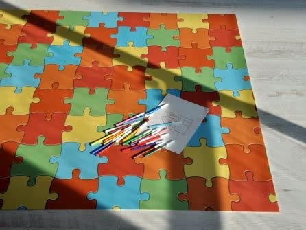 tappeti bambini puzzle outlet gt puzzle 100x160 cm tappeto gioco bambini