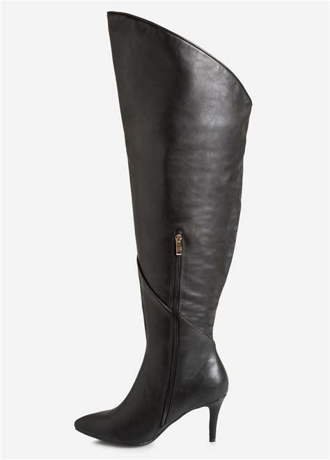 Stewart Gets The Boot 2 by Extended The Knee Boot Wide Calf Boots Stewart