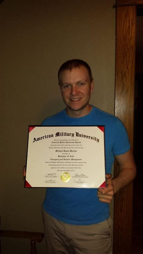 Amu Mba by Help Us Congratulate Michael Morlan On Earning His Ba In