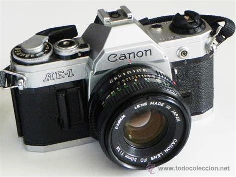 comprar camara de fotos reflex c 225 mara de fotos canon ae 1 r 233 flex objetivo 50 comprar