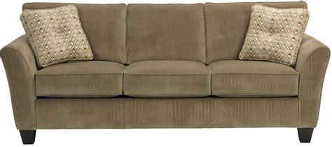 maddie affinity microfiber sofa from broyhill 6517 3q