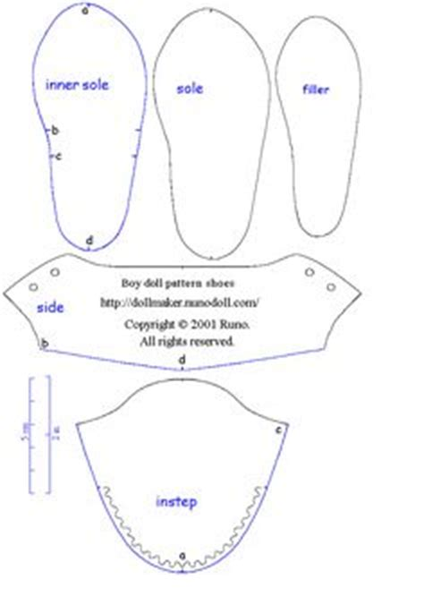 Free Paper Shoe Template If You Cannot See Patterns Try To Click Below Template Cards American Doll Clothes Templates
