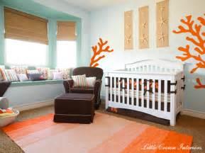 Beach theme boys nursery interior design project reveal