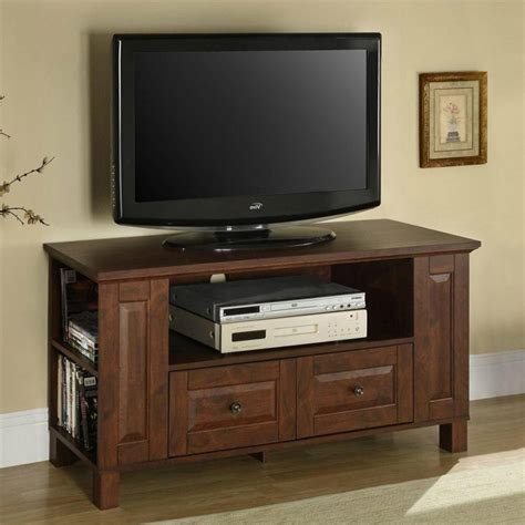 small tv cabinet with 50 inch tv corner stand furniture rectangle black wooden