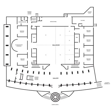 conference floor plan event facility capacities hurst conference center