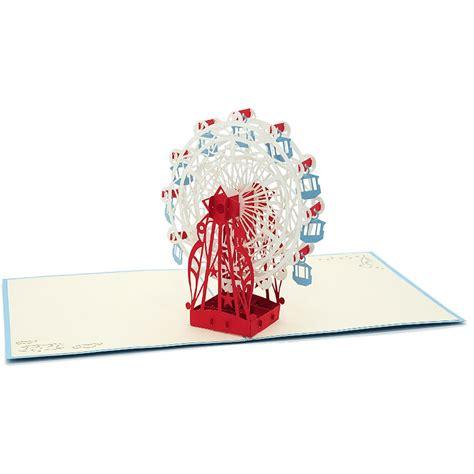 Pop Up Card Ferris Wheel Template by Ferris Wheel Pop Up Card Custom Designs Birthday 3d Card