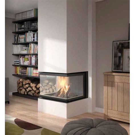 foyer électrique 3 faces insert 3 faces carr 233 dans chauffage bois a 6 250 00 deco