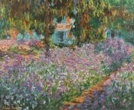 claude monet garten irises in monet s garden 1900 claude monet wikiart org