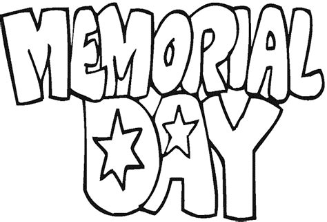 Coloring Pages For Memorial Day memorial day coloring pages coloring pages to print