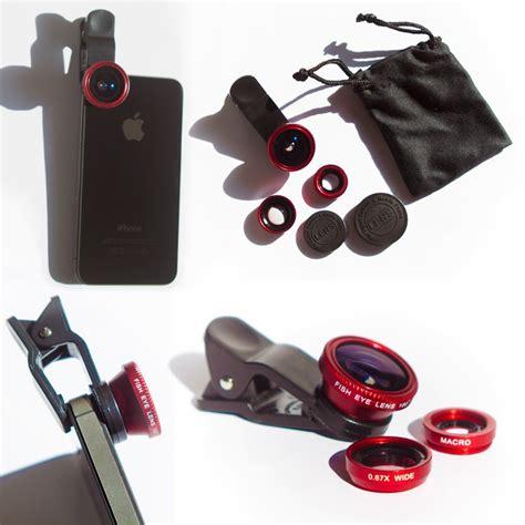 Lensa 3in1 Fisheye Wide And Makro For Selfie charming valerie