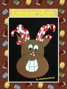 free christmas glyphs for fourth grade reindeer glyph by firstgradefriendz teachers pay teachers