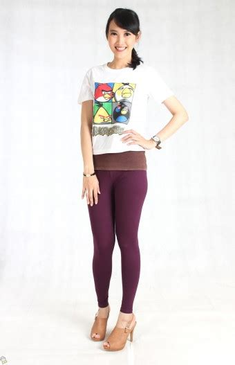 Legging Ungu by Store Co Id Baju Wanita Bellona Legging Ungu Xl