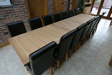 Large Dining Table Seats 10 12 14 16 Big
