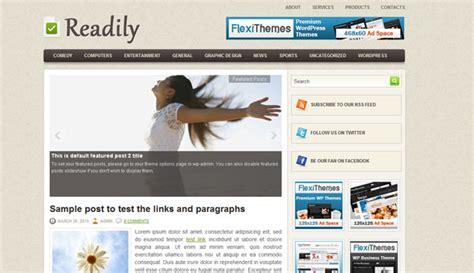 themelock wordpress readily flexithemes wordpress template 187 themelock com