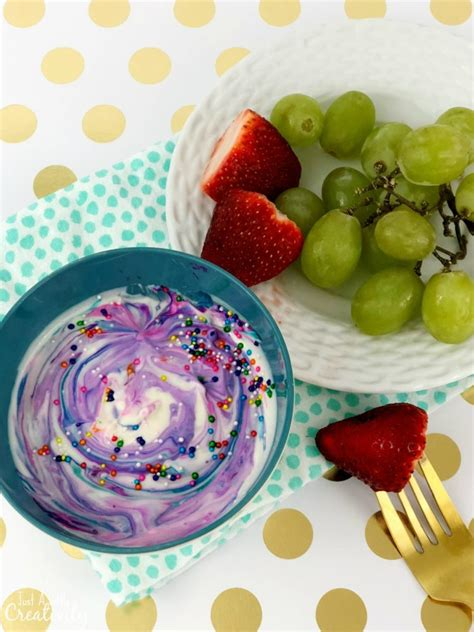 fruit unicorn rainbow unicorn fruit dip recipe that will make you smile