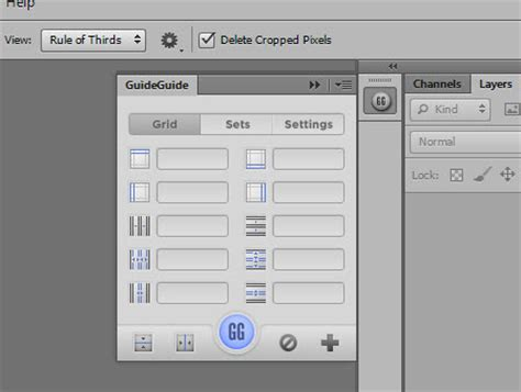 typography workspace photoshop setting a baseline grid with guideguide for photoshop