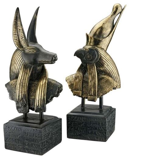 Statues And Sculptures Home Decorating by 18 Quot Classic Egyptian Art Statue Ancient Gods Sculptures
