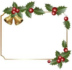 christmas decorations clipart borders png