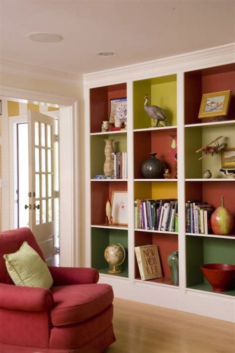 painting built in bookcases built in bookshelf pictures and ideas