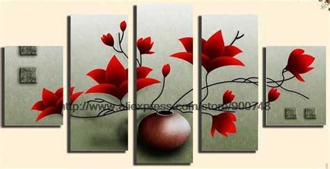 realistic bathroom ideas popular flower canvas painting ideas buy cheap flower canvas painting ideas lots from