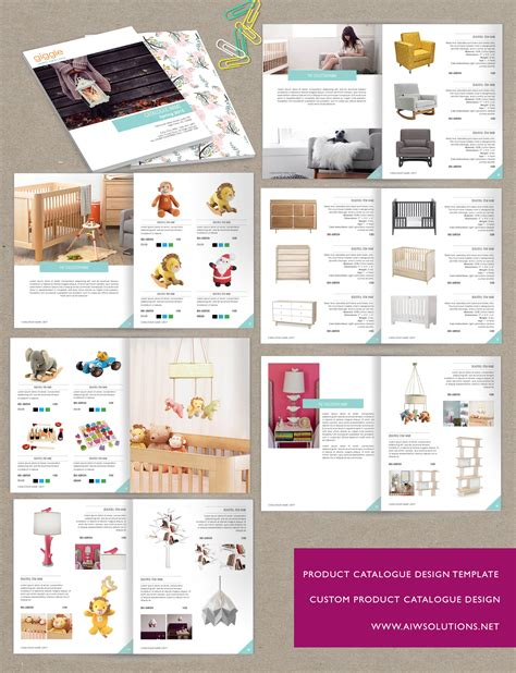 wholesale catalog template id05 product catalog template
