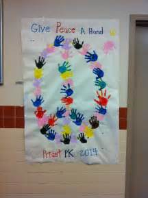 How To Decorate A Bulletin Board Mlk Day Peace Activity For Pre K Ideas