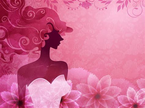 imagenes fondo de pantalla mujer vector de mujer color rosa con estilo fondos de pantalla