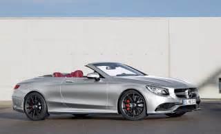 63 Amg Mercedes Mercedes Amg S 63 Cabrio Edition 130 Celebrates Birth Of