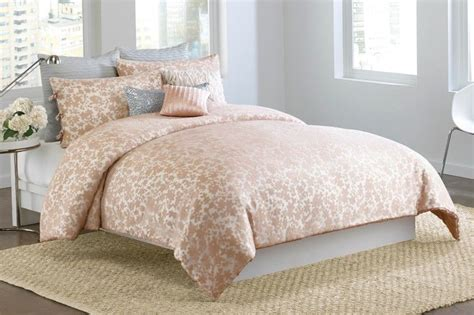 blush pink bedding 3 pc dkny sweet escape full queen comforter set blush pink
